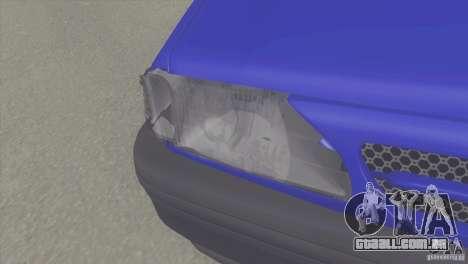 Kia Pride 131 SX para GTA San Andreas vista direita