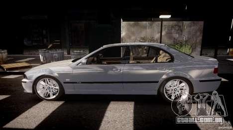 BMW M5 E39 Stock 2003 v3.0 para GTA 4 esquerda vista