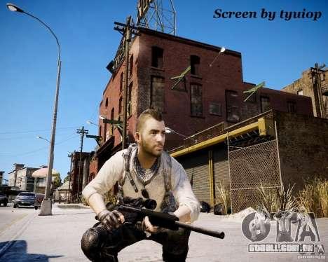 Modern Warfare 3 Soap Africa para GTA 4 terceira tela