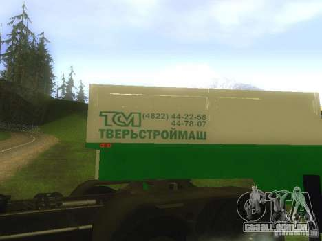 TCM trailer-993910 para GTA San Andreas vista interior