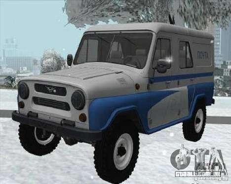 UAZ - 469P para GTA San Andreas