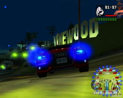 Novos efeitos para GTA San Andreas sexta tela
