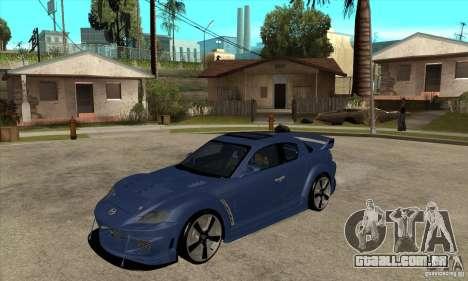 Mazda RX-8 v2 para GTA San Andreas