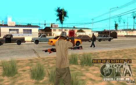 Headshot para GTA San Andreas segunda tela