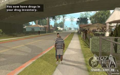 The Black Market Mod v.1.0 para GTA San Andreas segunda tela