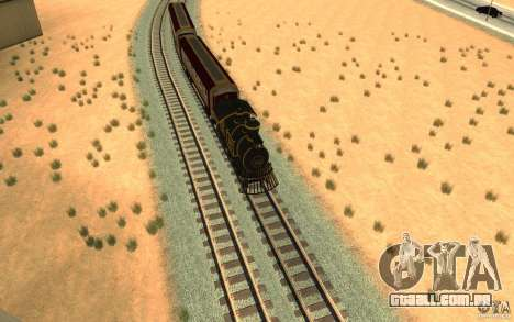 Locomotive para GTA San Andreas vista direita