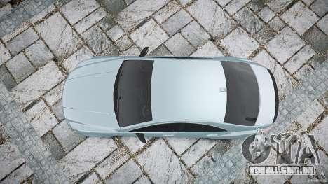 Mercedes Benz CLS 63 AMG 2012 para GTA 4 vista direita