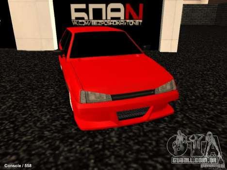 VAZ 2109 Opera Turbo para GTA San Andreas vista direita