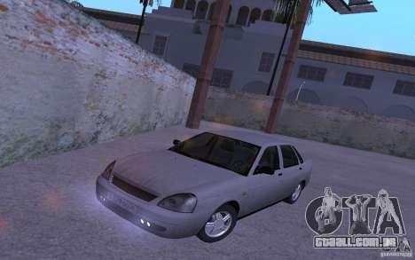 LADA Priora 2170 Pnevmo para GTA San Andreas vista traseira