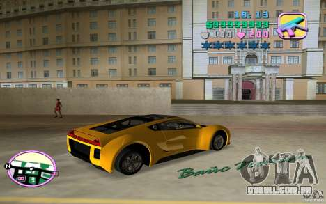 Saleen S5S Raptor para GTA Vice City deixou vista