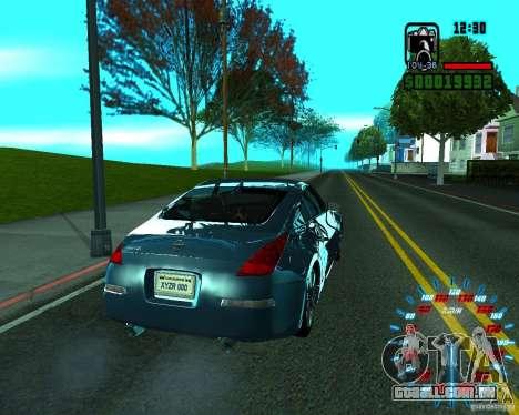 ENB by Makc para GTA San Andreas quinto tela