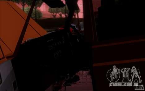 Toyota Land Cruiser FJ55 para GTA San Andreas traseira esquerda vista