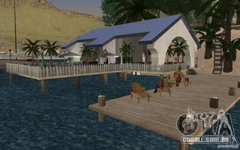 Clube de praia para GTA San Andreas