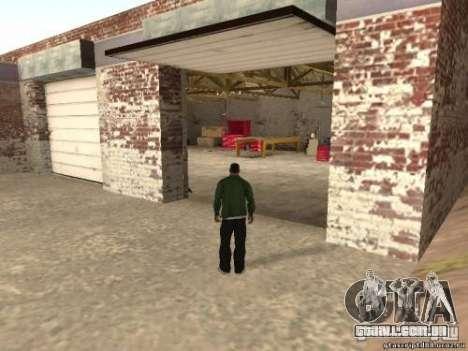 Ativação de garagens não utilizadas para GTA San Andreas segunda tela