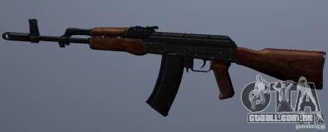 AKM para GTA San Andreas terceira tela