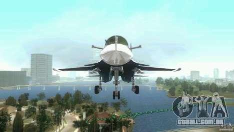 Vice City Air Force para GTA Vice City deixou vista