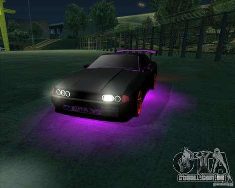 NEON mod para GTA San Andreas por diante tela