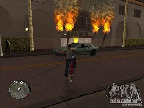 Addon para ícones para GTA San Andreas por diante tela
