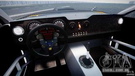 Ford Mustang GT-R para GTA 4 vista de volta