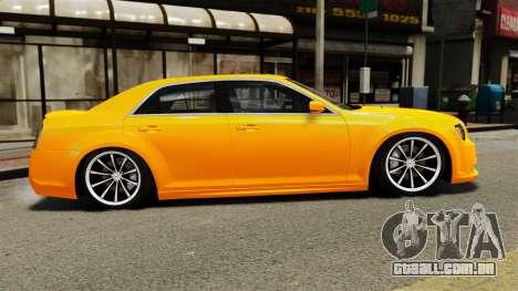 Chrysler 300 SRT8 LX 2012 para GTA 4 esquerda vista