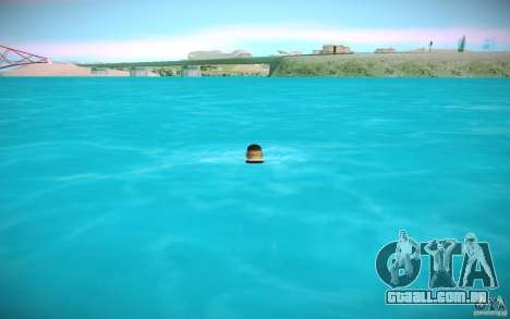 Água de HD para GTA San Andreas quinto tela