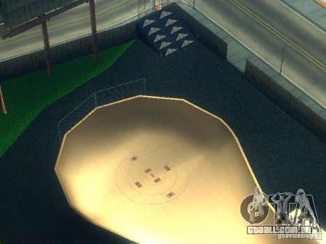 New BMX Park para GTA San Andreas terceira tela