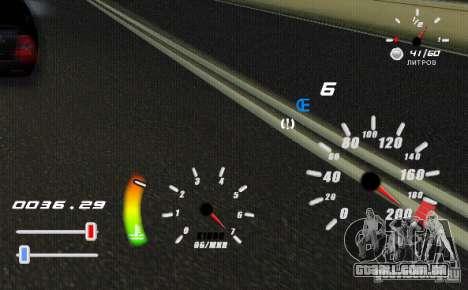 Um velocímetro original para GTA San Andreas segunda tela