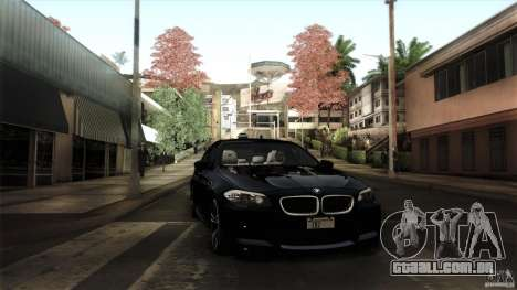 BMW M5 F10 2012 para as rodas de GTA San Andreas