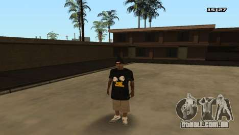 Skin Pack Ballas para GTA San Andreas décimo tela