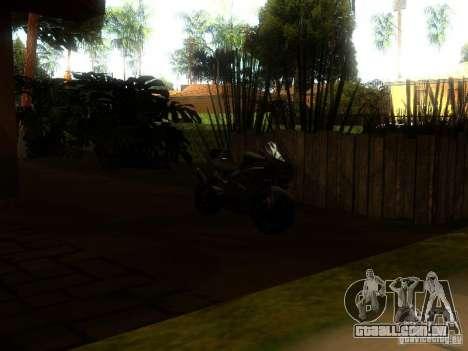 New Car in Grove Street para GTA San Andreas sexta tela