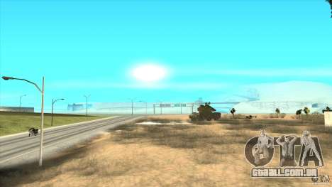 ADMS VESPA para GTA San Andreas vista superior