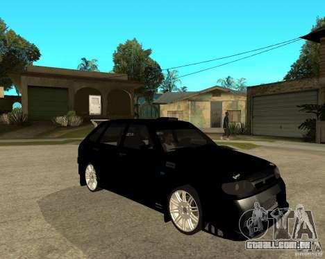 ВАЗ 2114 Mechenny para GTA San Andreas vista direita