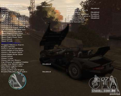 Simple Native Trainer v6.4 para GTA 4 sexto tela