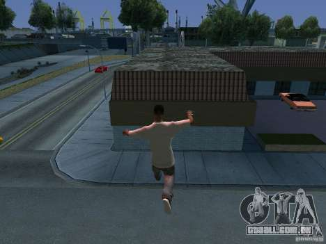 GTA IV Animation in San Andreas para GTA San Andreas décimo tela