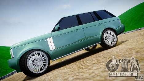 Range Rover Vogue para GTA 4 vista superior
