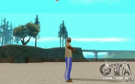 Calças adidas para GTA San Andreas terceira tela