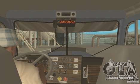 Peterbilt 379 Custom And Tanker Trailer para GTA San Andreas vista direita