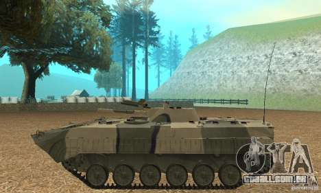 BMP-1 Camo para GTA San Andreas esquerda vista