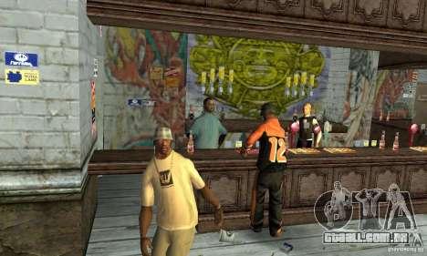 Drunk mod para GTA San Andreas terceira tela