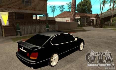 TOYOTA ARISTO 2001 ano para GTA San Andreas vista direita