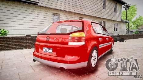 Opel Signum 1.9 CDTi 2005 para GTA 4 vista interior