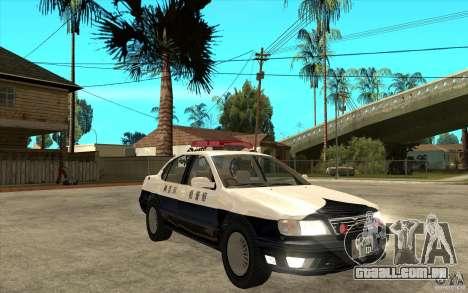 Nissan Cefiro A32 Kouki Japanese PoliceCar para GTA San Andreas vista superior
