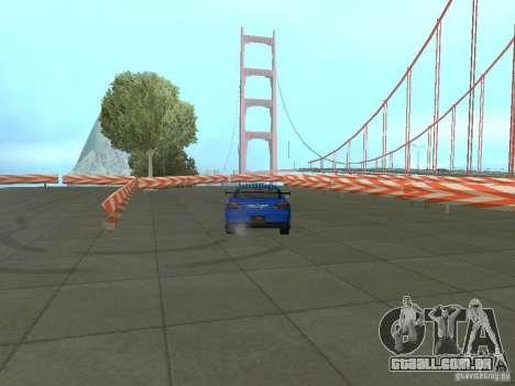 New Drift Track SF para GTA San Andreas sexta tela
