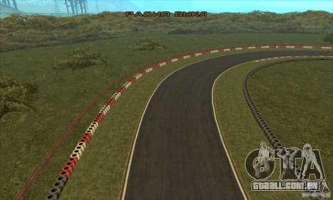 Faixa GOKART rota 2 para GTA San Andreas twelth tela