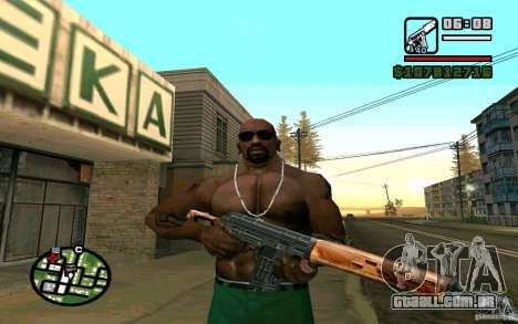 Dragunov sniper rifle v 2.0 para GTA San Andreas terceira tela