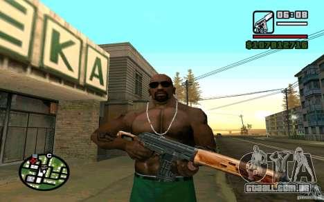 Dragunov sniper rifle v 2.0 para GTA San Andreas terceira tela