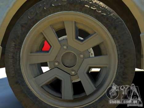 Toyota Corolla AE86 EPM v3.0 para GTA 4 vista interior