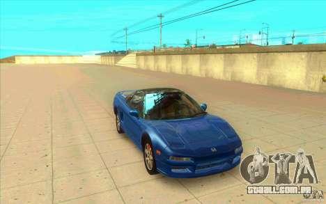 Honda NSX 1991 stock para GTA San Andreas