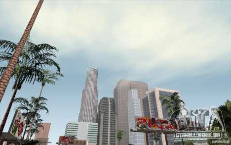 Timecyc Los Angeles para GTA San Andreas segunda tela