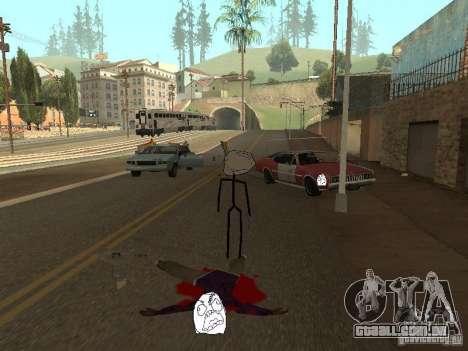 Meme Ivasion Mod para GTA San Andreas por diante tela